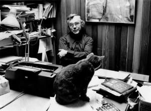 Feline Proof Reading (Taken 1978)