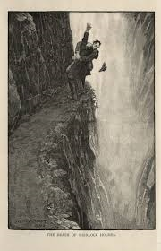 Reichenbach Falls in the Sherlock Holmes stories