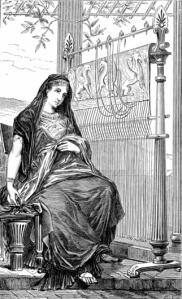 Penelope at her loom