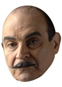 Hercule Poirot Face Mask