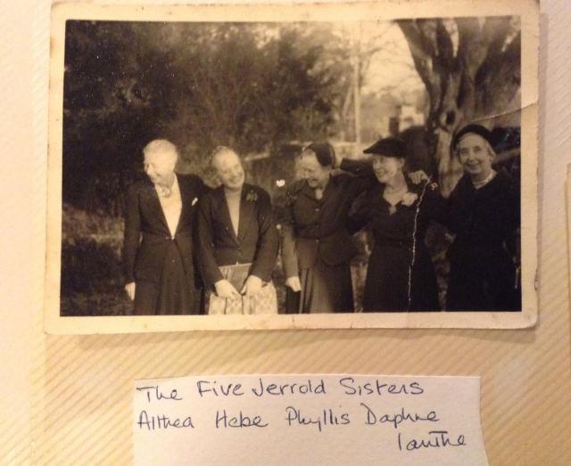 A sneak peak inside the Jerrold Family Photo Album: Ianthe Jerrold and her Sisters