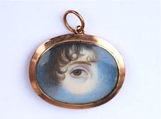 An example of eye miniatures, though this one is from a slightly later period, circa 1820s.
