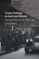 Crime Writing in Interwar Britain