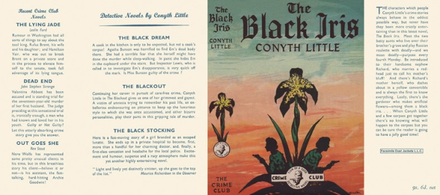 The Black Iris (1953) by Conyth Little
