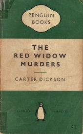 The Red Widow Murders